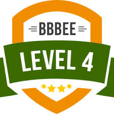 BBBEE - Level 4 - Certified